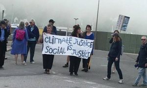 Climate Justice Demo at Dover