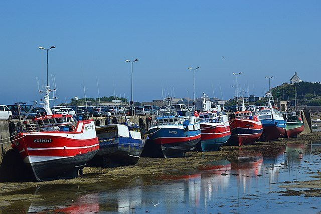 French licences not granted Fishing fleet at Roscoff, Britanny